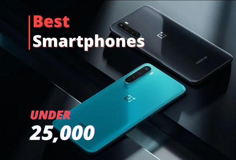 25000 smartphones