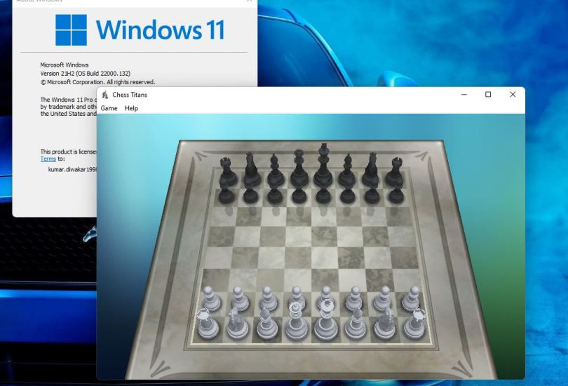 Install Chess on Windows 11