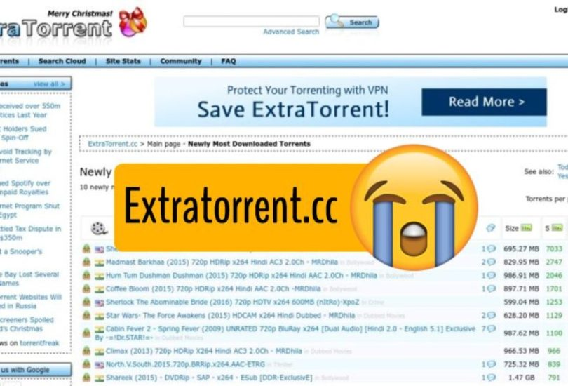 ExtraTorrent Proxy List