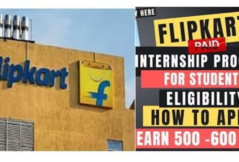 Flipkart 45 Days Launchpad Internship for students in India