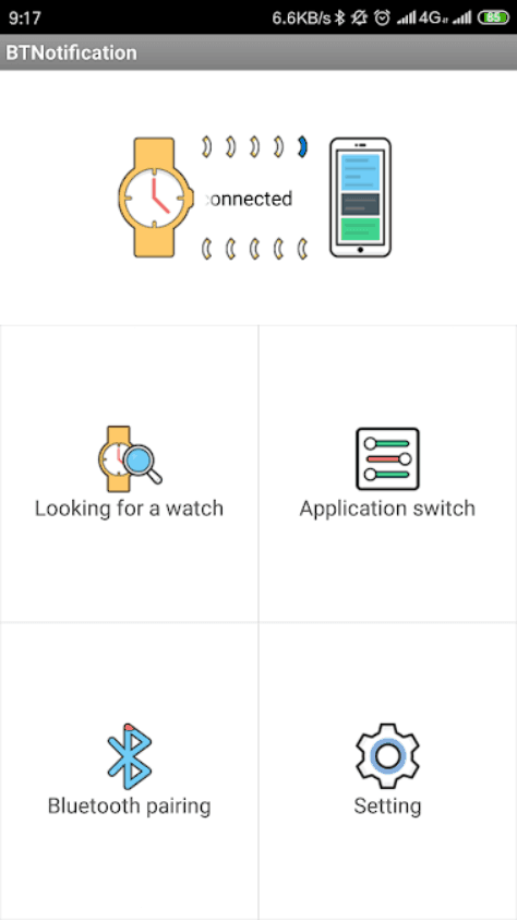 Bt Notice App For M8 Smartwatch : notice, smartwatch, Download, Notifier, Android, IPhone/iOS, Notification