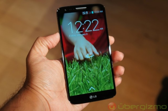 lg g2 launched