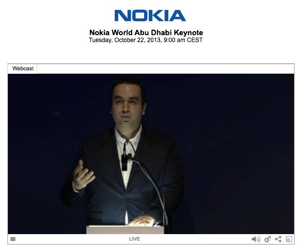 Nokia live event abu dhabi