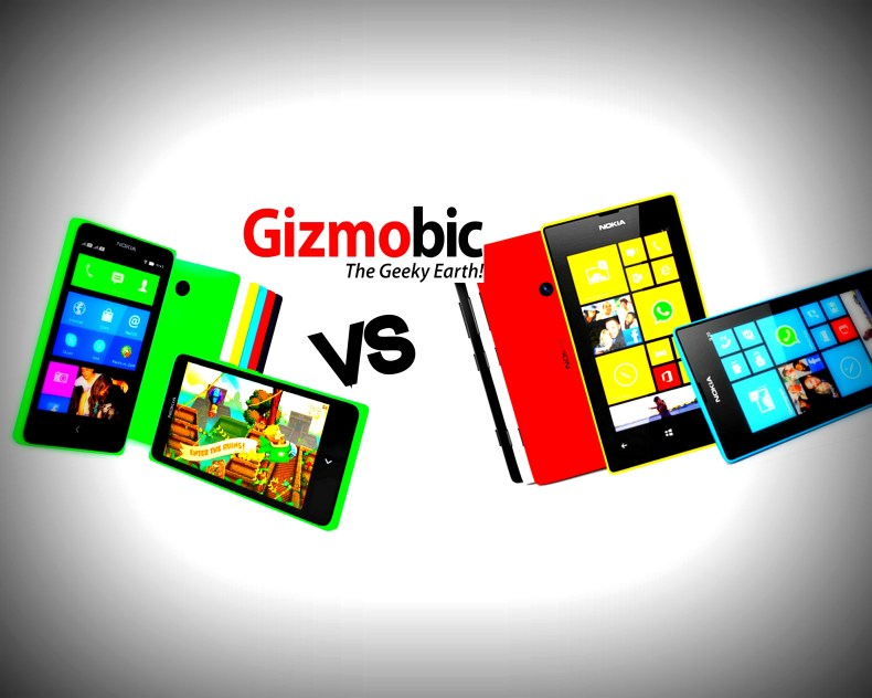 nokia x vs lumia 520