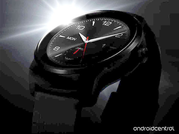 new LG G Watch R teaser