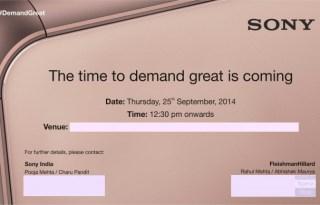 Xperia Z3 india launch