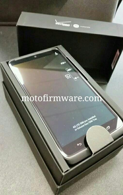 droid turbo retail packaging