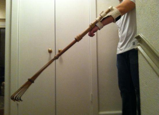 Bamboo prosthetic arm