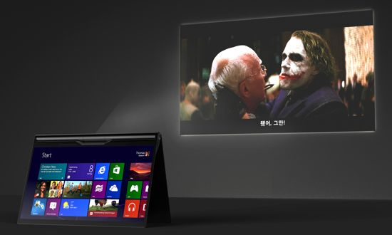 Veam Tablet PC with Projector_05