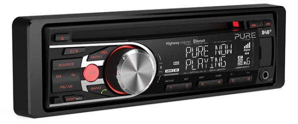 Pure Highway H260DBi DAB-CD in-car entertainment