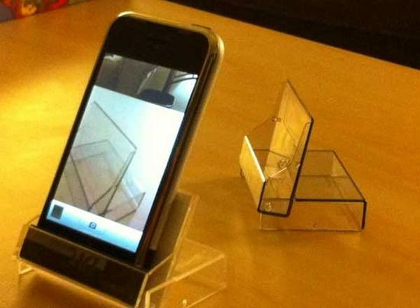 Mini DV Case iPhone Stand