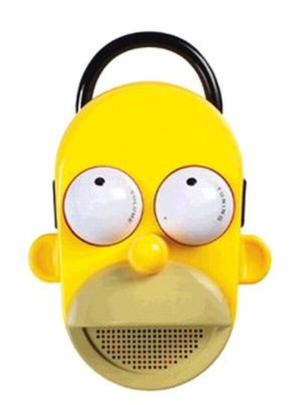Homer Simpson Talking Sower Radio