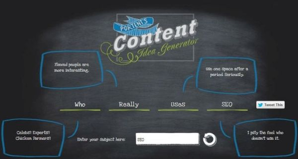 Simple yet effective tools to create amazing content for Portent title maker
