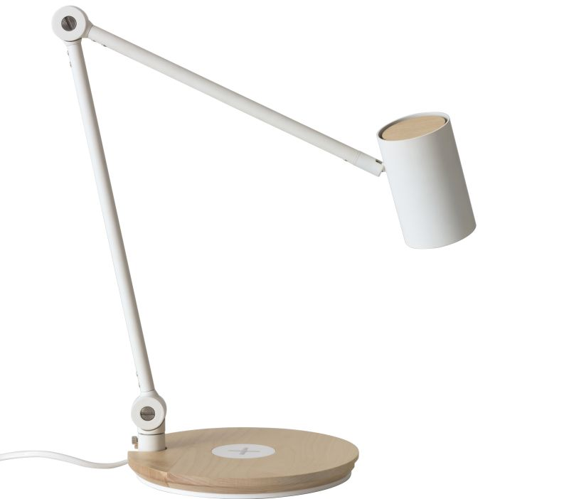 IKEA Riggad wireless charging lamp