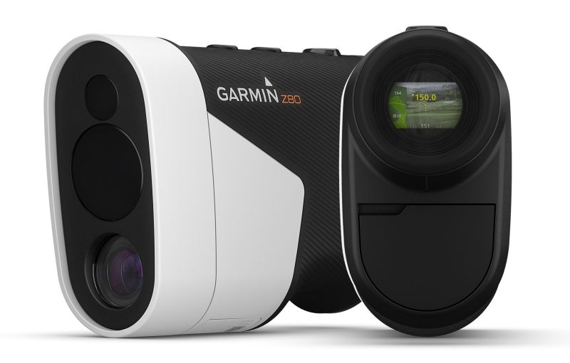 Electronic rangefinder for golf courses