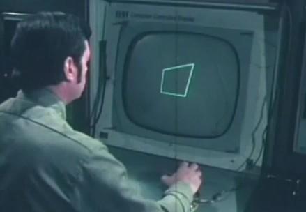 Computação gráfica na década de 1970.