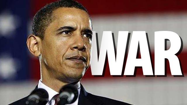 Obama vai pra guerra.