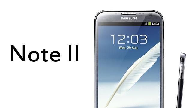 Galaxy Note II.