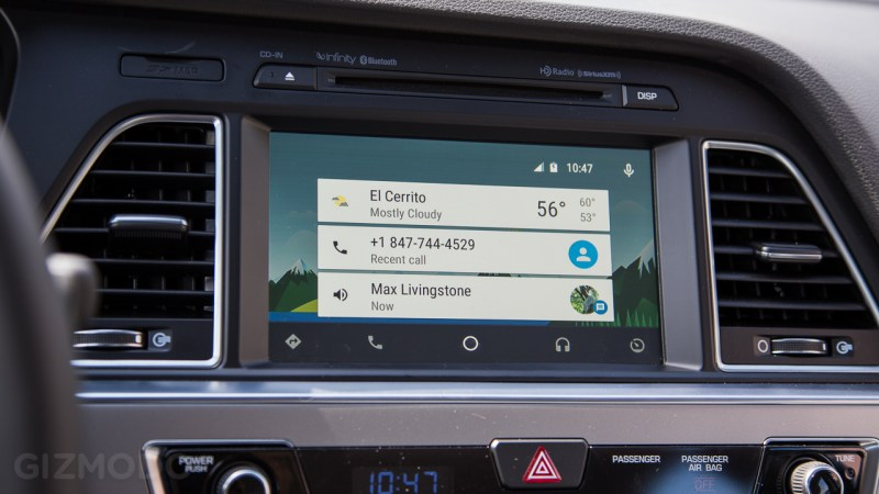 Preview do Android Auto (2)