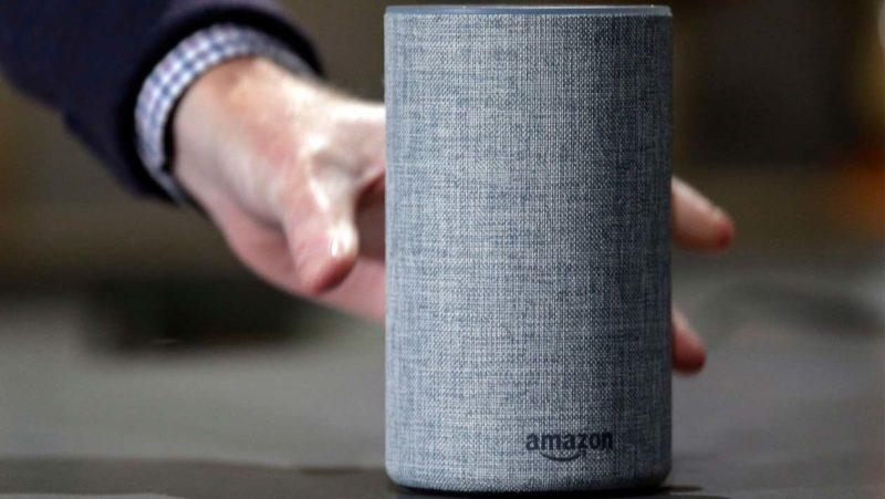 Amazon Echo. Elaine Thompson/AP