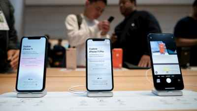 iPhone 11. Crédito: Getty Images