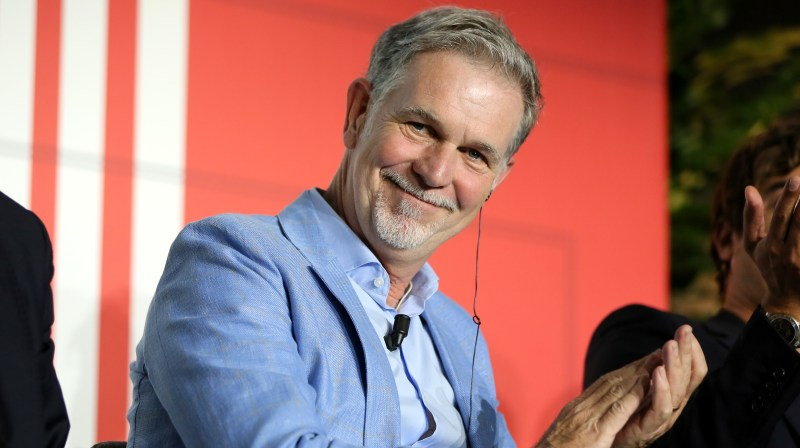 Reed Hastings, CEO da Netflix. Crédito: Getty