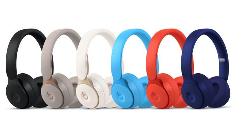 Beats Solo Pro em diferentes cores. Crédito: Beats