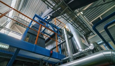 Business with Biofuel Boiler