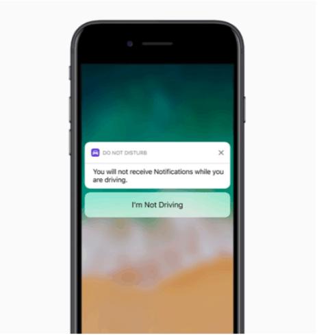 iOS 11 DNDWD