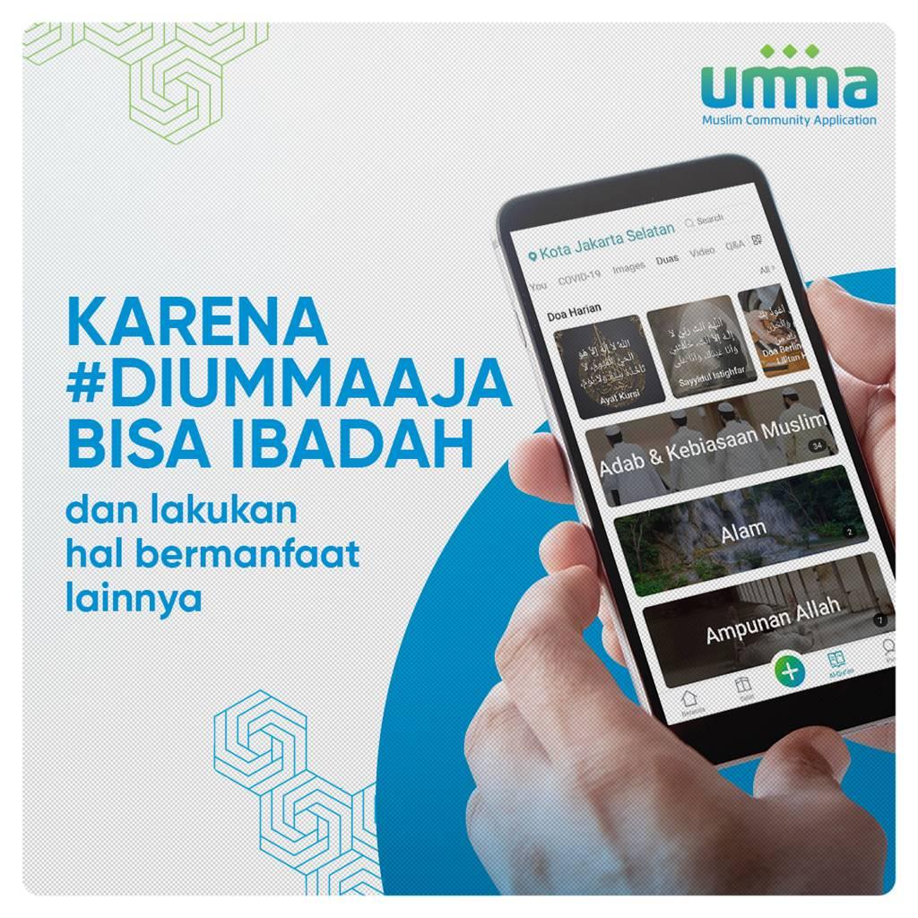 #diummaaja umma application