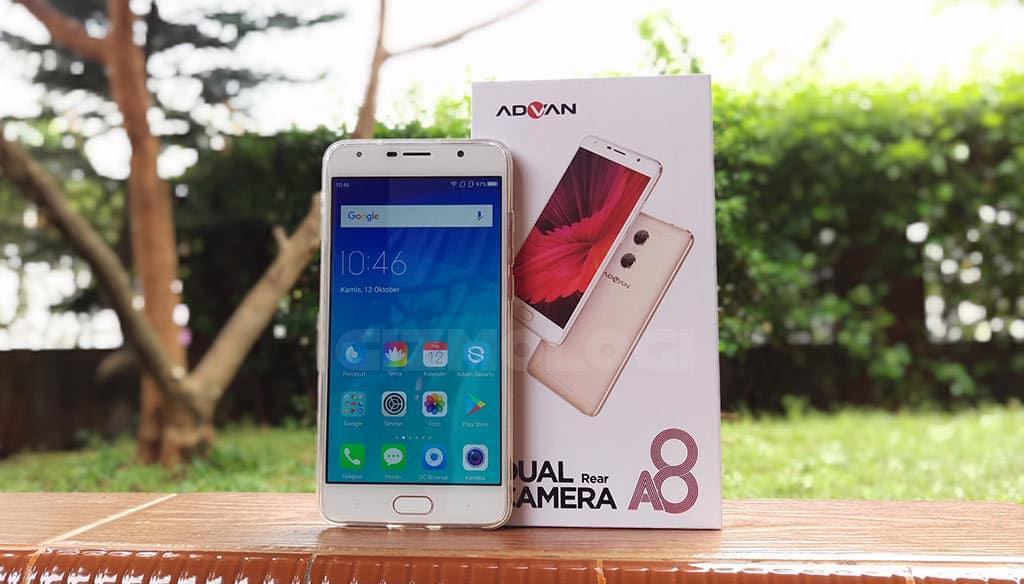Review Advan A8 Ponsel Kamera Ganda Dengan Fitur Security