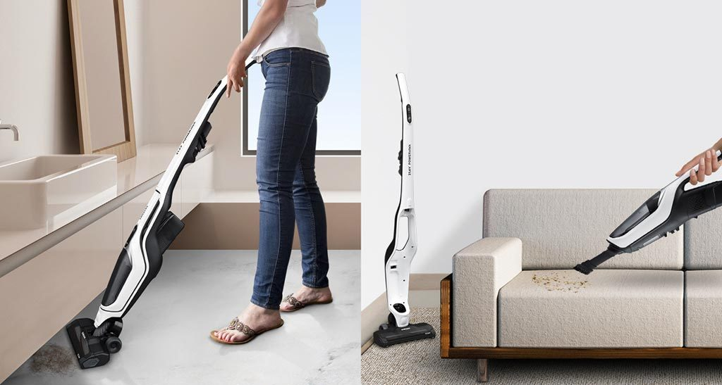 Clean the House with Power Stick Vacuum Cleaner