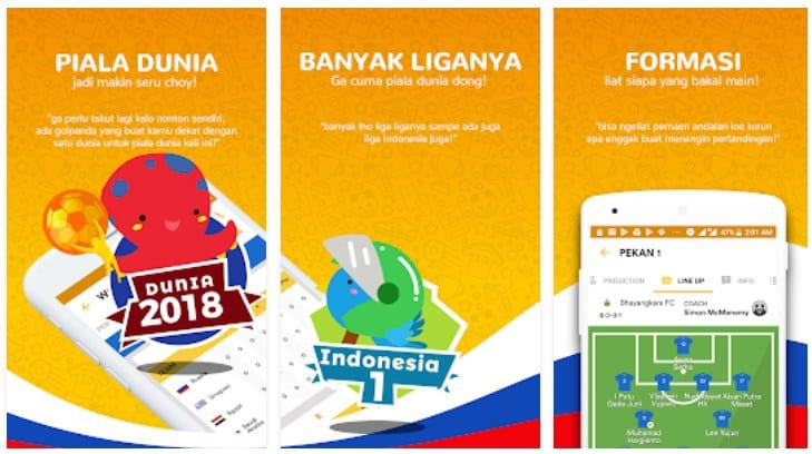 <strong>GolPanda: Jadwal Lengkap Piala Dunia 2018</strong>