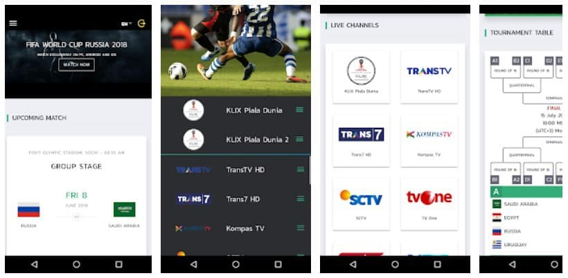 KlixTV: Streaming Nonton Bola dari Gadget