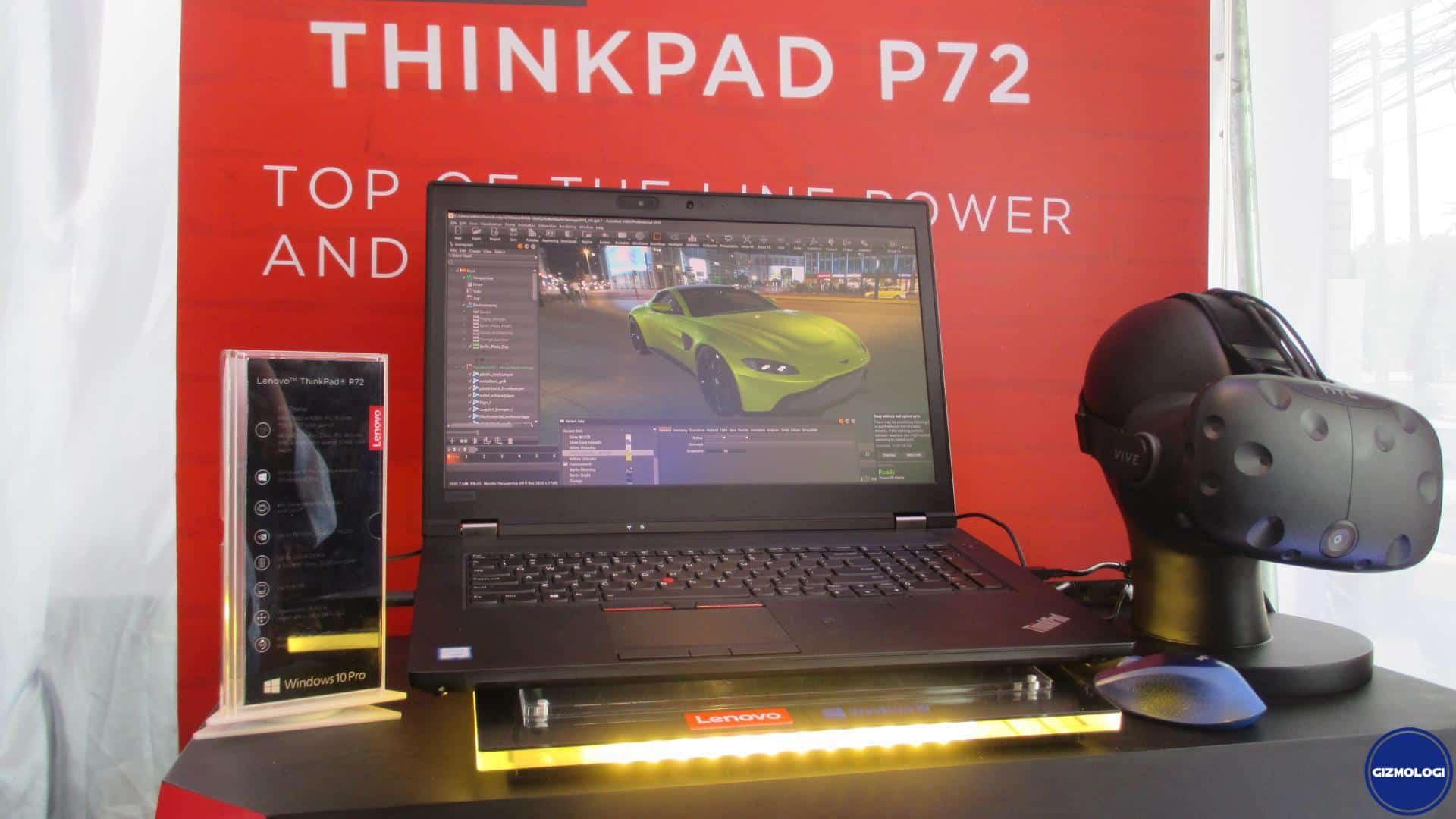 Lenovo ThinkPad P Series Terbaru Hadir Jadi Mobile