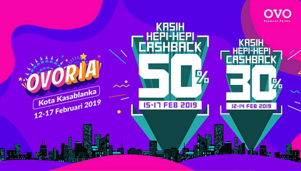 Festival Ovoria Cashback 50 Ovo Banjiri Mal Kota Kasablanka