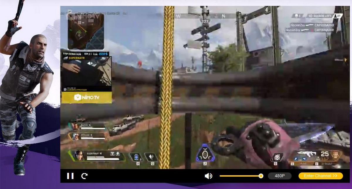 Sebagai platform live streaming video game, Nimo TV berkomitmen memperkaya kontennya dengan merekrut bakat-bakat terbaik pemain video game profesional dan atlet eSports.