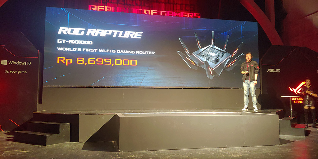 Harga Wireless Router: ROG Rapture GT-AX11000