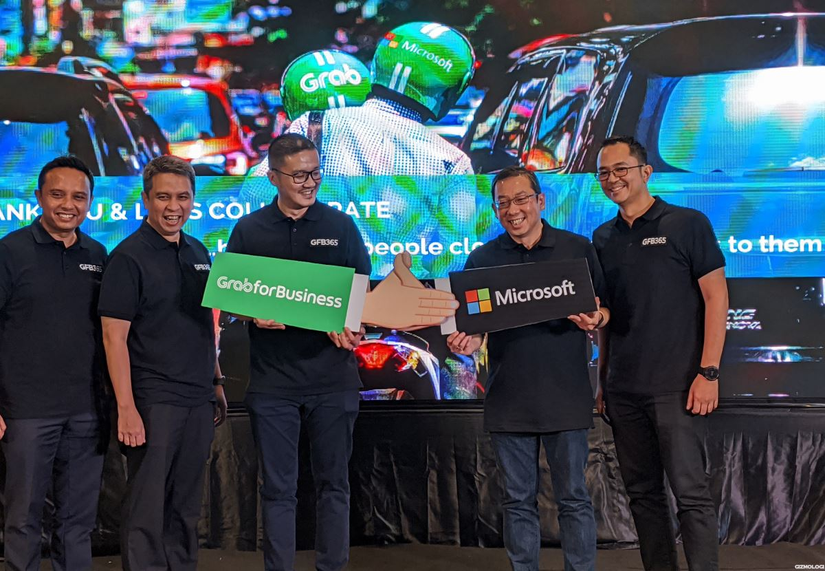 Microsoft Grab for Business 365