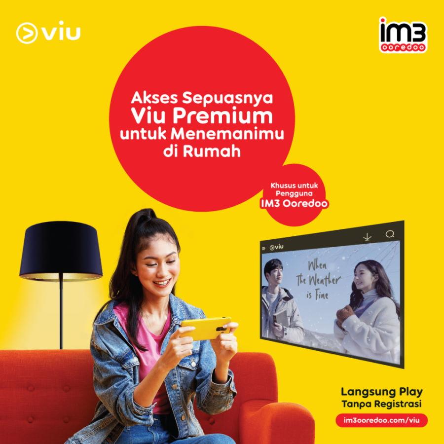 Indosat IM3 Viu Premium