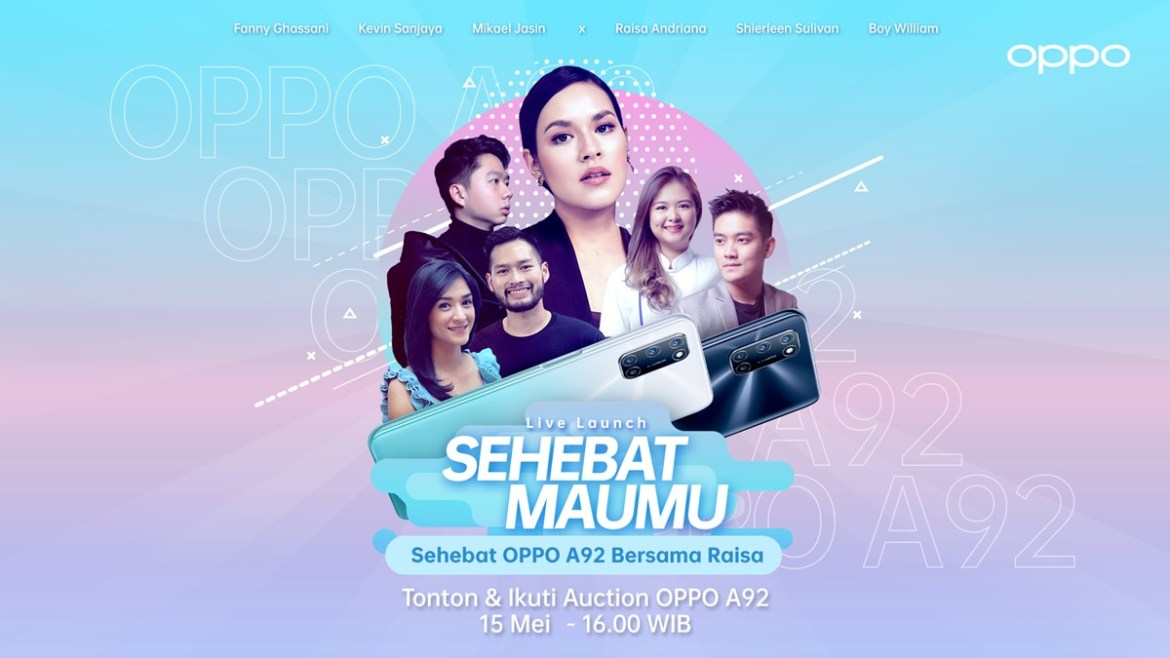 Launch Event OPPO A92