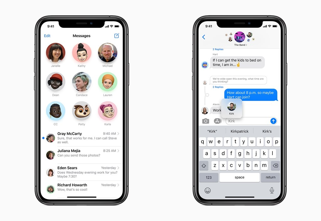 iMessage iOS 14