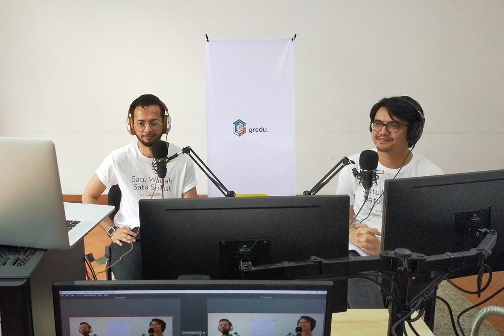 (Ki-ka): Ricky Putra, COO Gredu dan Mohammad Fachri, CTO Gredu.