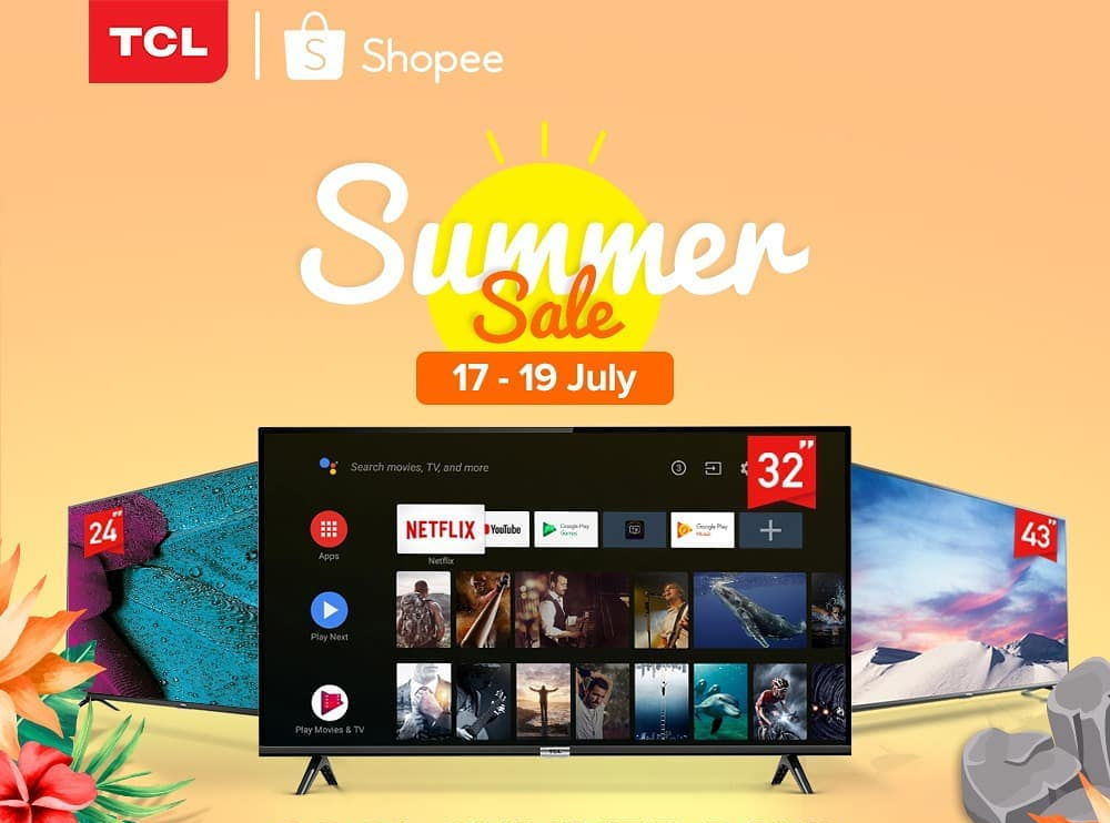 TCL A3 TV Shopee Brand Day