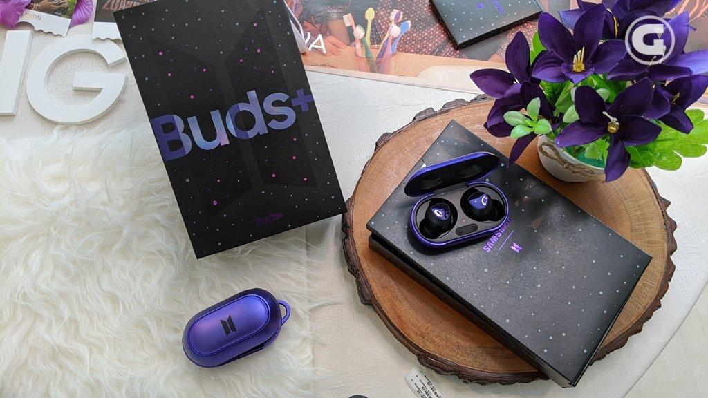 Boks Galaxy Buds Plus BTS Edition