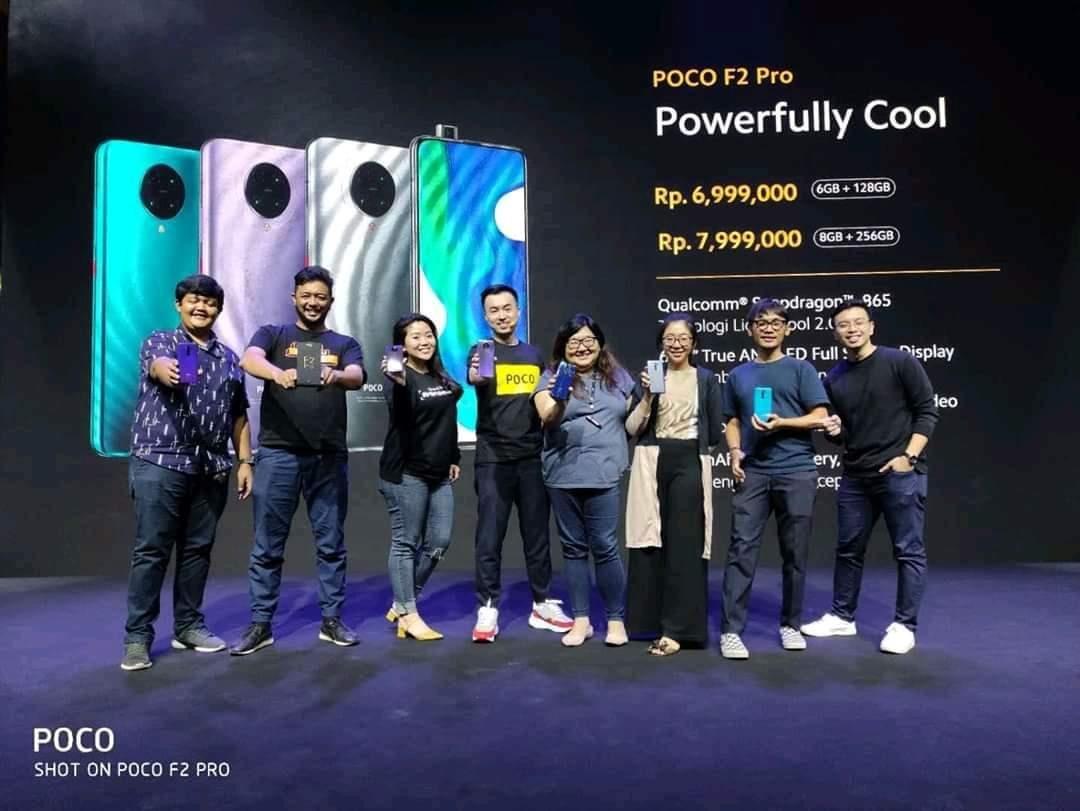 Harga Poco F2 Pro Indonesia