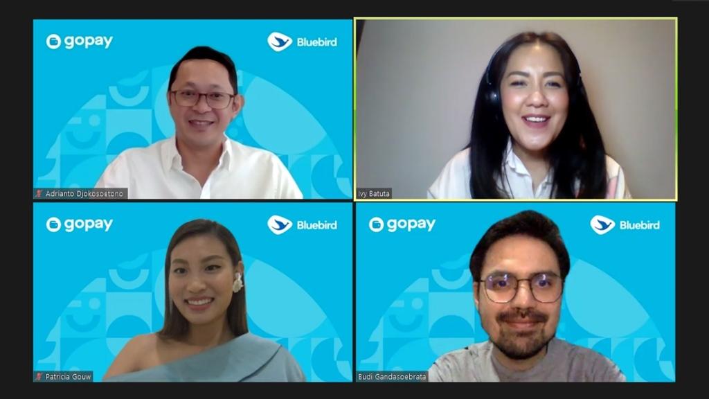 virtual press conference GoPay & Bluebird