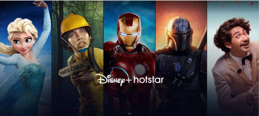 Promo Paket Disney Plus Hotstar Telkomsel Indonesia