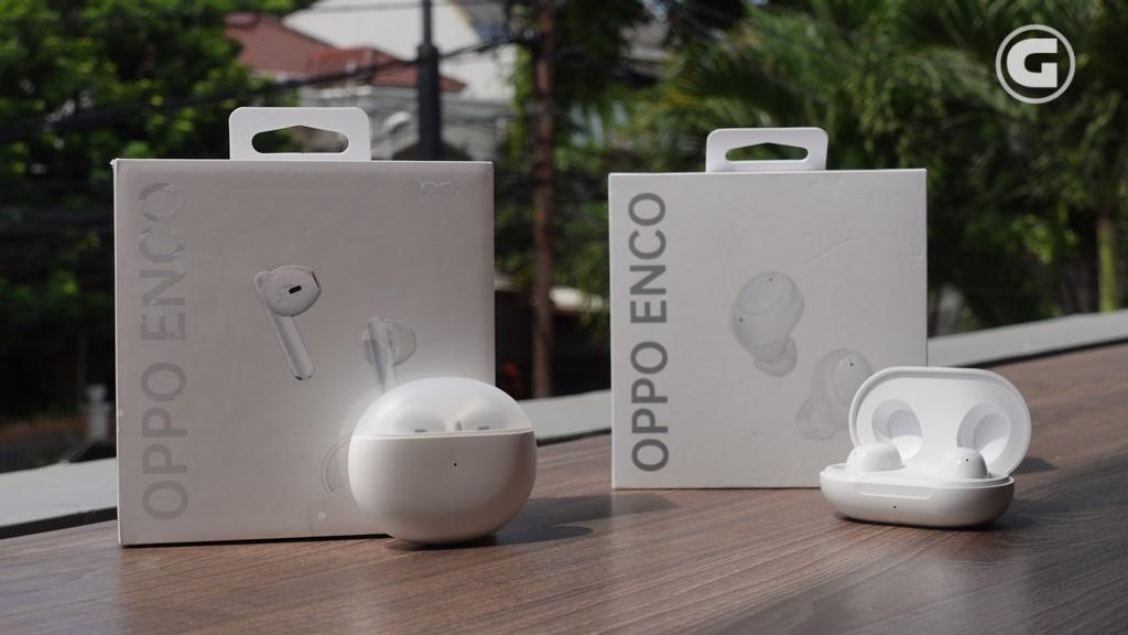 wired earphones vs OPPO Enco Air - Enco Buds