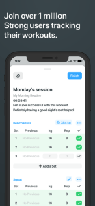 Strong Workout Tracker Gym